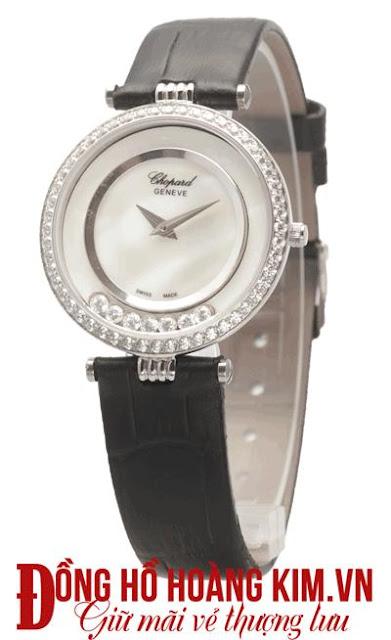 Đồng hồ nữ dây da mặt tròn - 01
