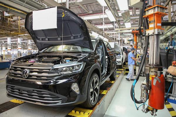 Volkswagen volta a produzir Polo, Virtus e Nivus na Anchieta