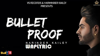 Bullet Proof Song Lyrics