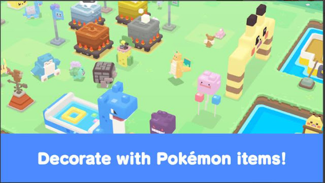 Game Petualangan Online Multiplayer Pokemon Quest APK