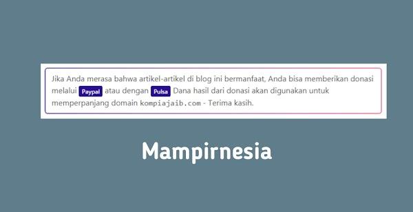 Cara Mudah Membuat Pesan dibawah Postingan Blog seperti Kompiajaib Versi Kurazone