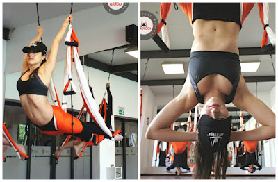 columpio, yoga, pilates, hamaca, swing, trapeze, suspension, acro