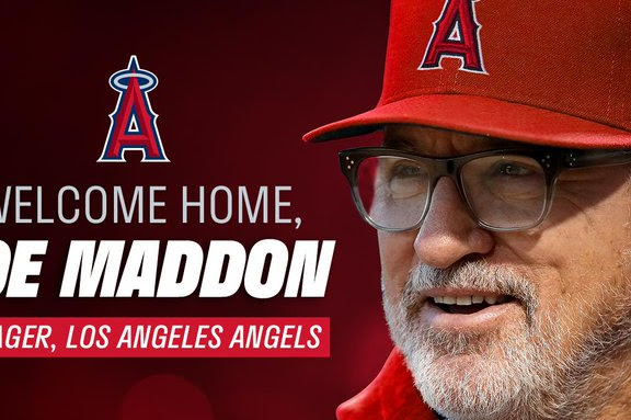 Joe Maddon Becomes The Angels New Manager