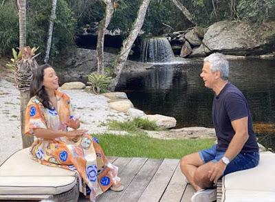 Daniela Filomeno bate um papo com Otaviano Costa neste sábado - Divulgação_CNN