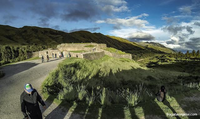 Cusco, Peru - fortaleza inca de Pukapukará