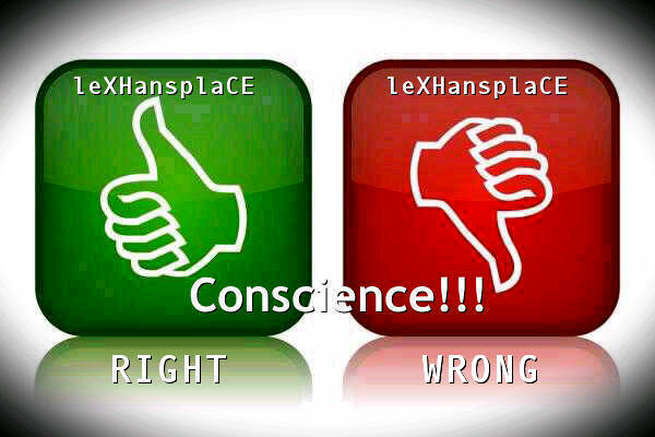 conscience for lexhansplace