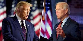 Image of Trump and Biden