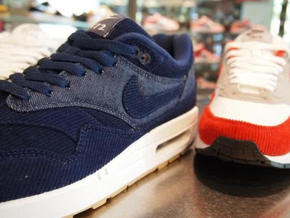 reputable site 33c3d e6f69 Along with the Nike Dunk, Denim Twill and Corduroy will be available on the Nike  Air Max 1. Check out these samples! I must say, I m very impressed!