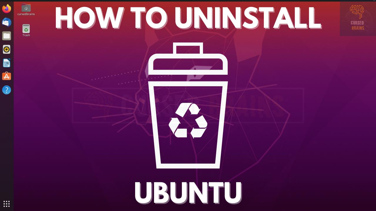 How to Uninstall Ubuntu | Remove Ubuntu Dual Boot | Delete Ubuntu Grub 2.0