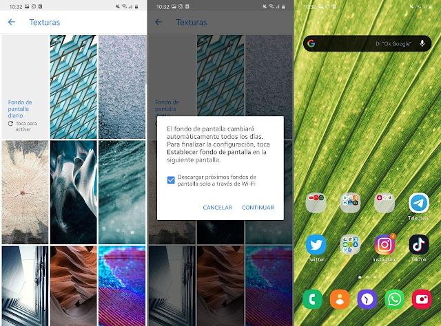 كيفية تغيير خلفية الخاص بك كل يوم على Android