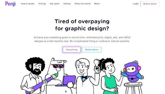 penji review graphic design service provider