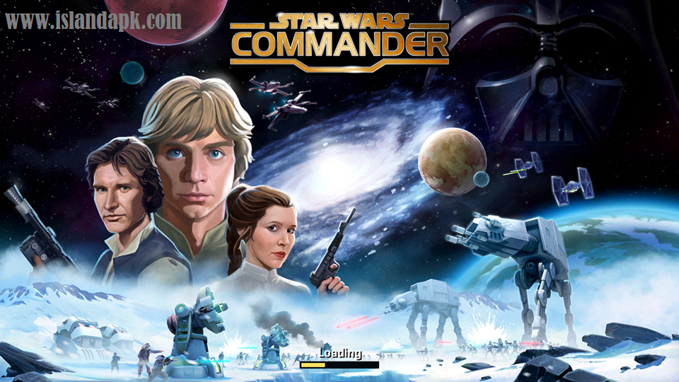 Game Android Star Wars Commander v4.8.0.9512