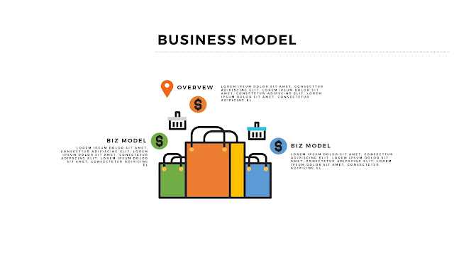 Infographic Business Model Presentation for PowerPoint Template Slide 2