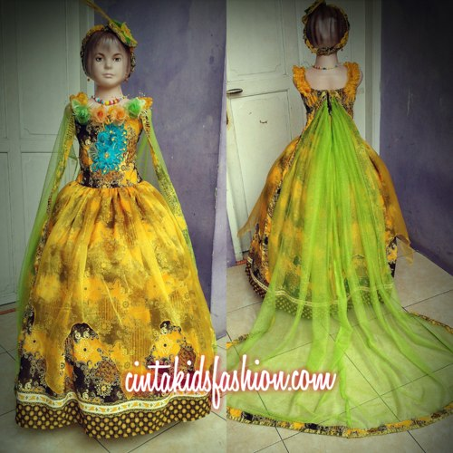 Dress Dan Gaun Batik Fashion Anak Modern Cintakidsfashion