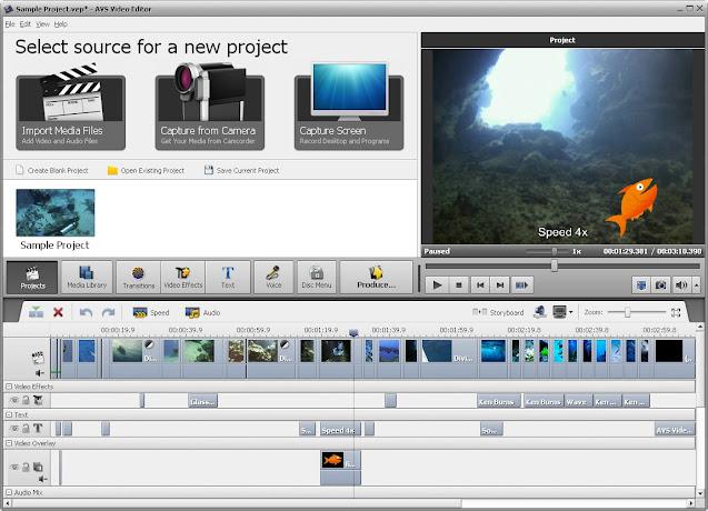 Descargar AVS Video Editor Mega y Mediafire