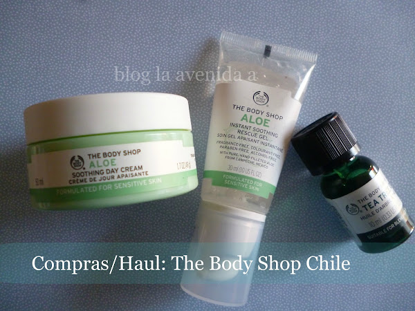Compras / Haul: The Body Shop en Chile