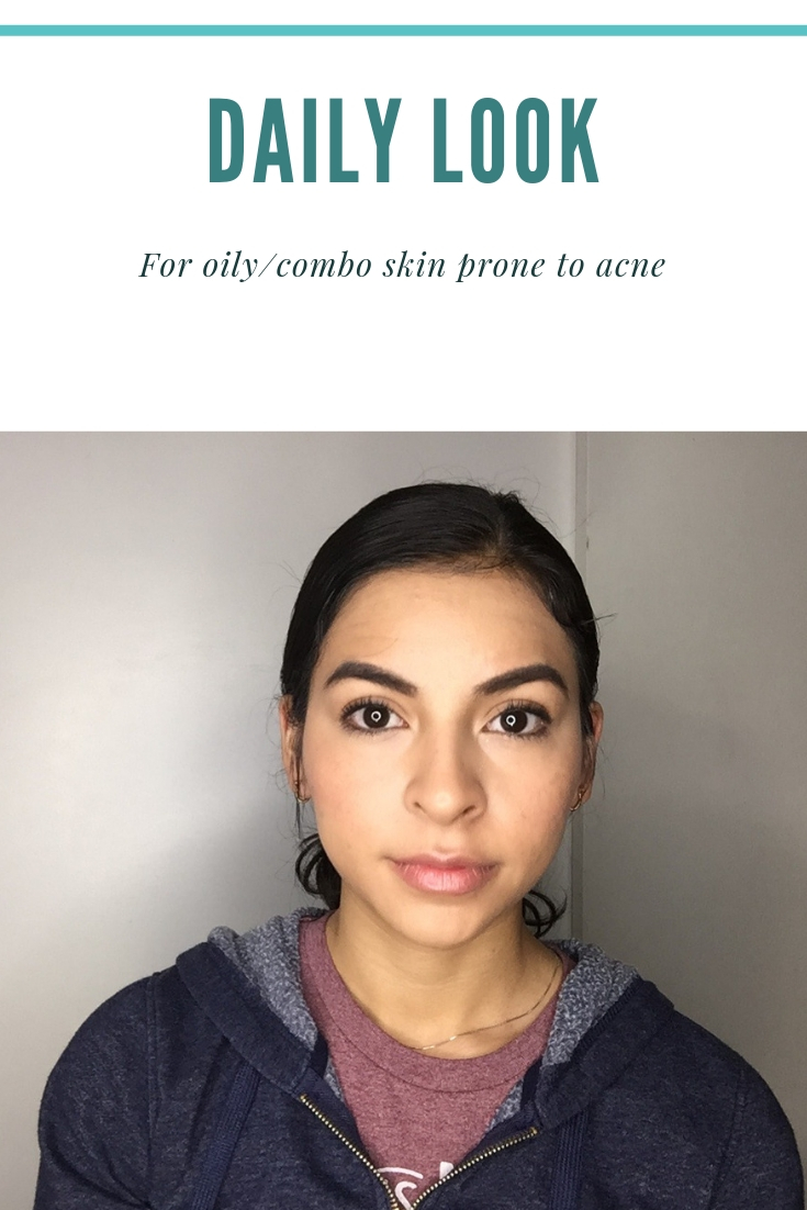 DAILY MAKEUP FOR ACNE PRONE SKIN CRUELTY FREE MAKEUP | MARIZIP