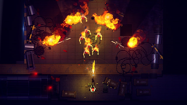 Garage Bad Trip - Shooting at lots of zombies with a turret minigun