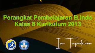 RPP B. Indo 1 Lembar Kelas VIII Semester 2