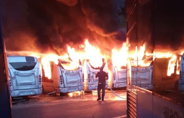 Atac, dimezzati casi di incendio su vetture bus