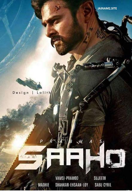SAAHO 2019 Hindi 720p HDRip
