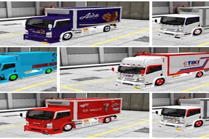 10+ Livery MOD Truck Isuzu NMR71 Box BUSSID By WNR ESP