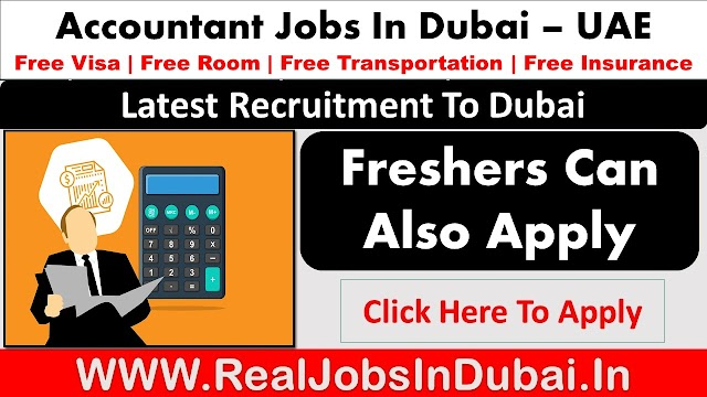 Accountant Jobs in Dubai, Abu Dhabi & Sharjah - UAE