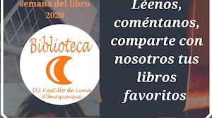 Celebra con BiblioCastillodeLuna la Semana del Libro