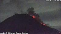 Memantau awan panas Gunung Merapi, aktivitas vulkanik tingkat III atau Siaga