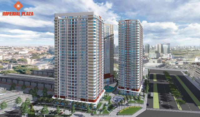 đột phá trong xây dựng chung cư imperial plaza