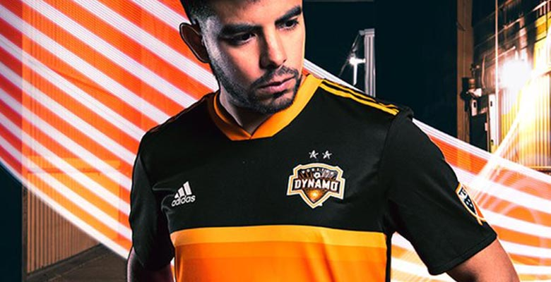 finest selection 40e86 286c7 Houston Dynamo 2018 Away Kit Released - Footy Headlines
