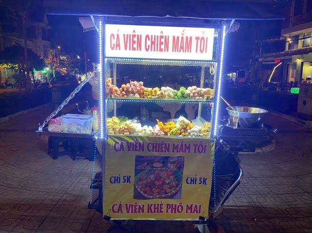 Cá viên chiên mắm tỏi Gò Vấp navivu.com