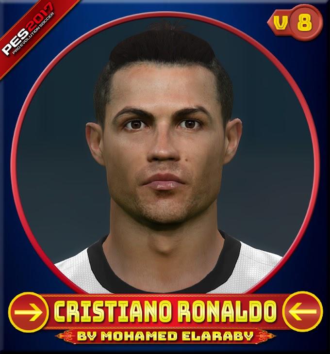Cristiano Ronaldo Face V.8 juventus Player - PES 2017