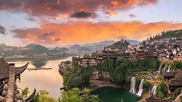 Trấn Phù Dung, Hồ Nam, Trung Quốc chốn bồng lai tiên cảnh