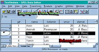 Menghapus Data Record