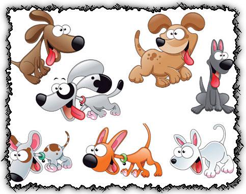 Vectores de perros gratis  recursos WEB  SEO