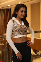 Catherine Tresa in a White Glittering Crop Top Black Leggings  Exclusive 041.JPG