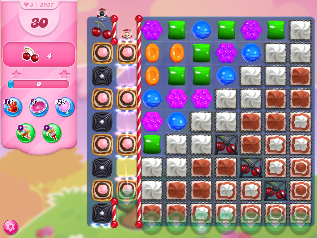 Candy Crush Saga level 3937