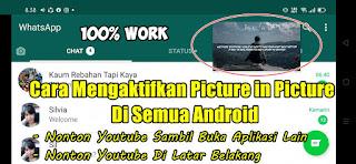 Cara Menggunakan Picture in Picture (PIP) Youtube Di Android