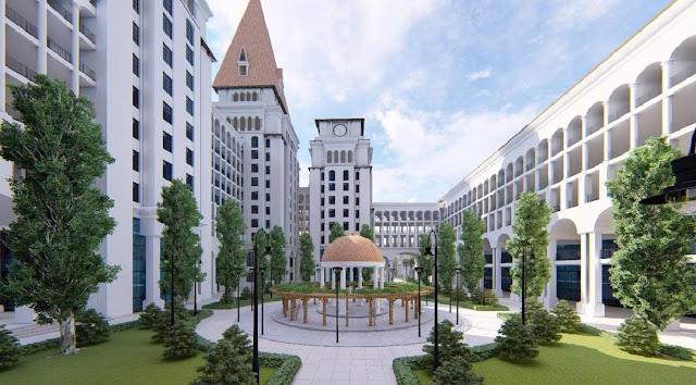 Dự án Sunshine Ks Finance Capital Ciputra thừa hưởng từ Ngôi trường liên cấp chuẩn Canada đẳng cấp tại Hà Nội