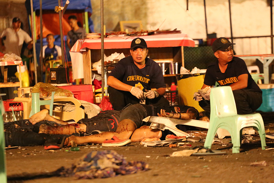 The Roxas Night Market bomb attack last Friday