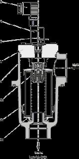 Bosch Rexroth 25TE Tank mounted return line filter