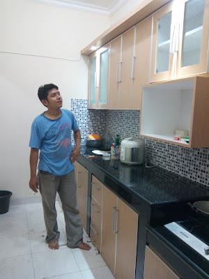 Kitchen set tahan air anti rayap dan harga murah kitchen for Kitchen set lurus