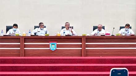Rakor di Balai Kota, Wali Kota Payakumbuh Ingatkan 3 Hal Ini