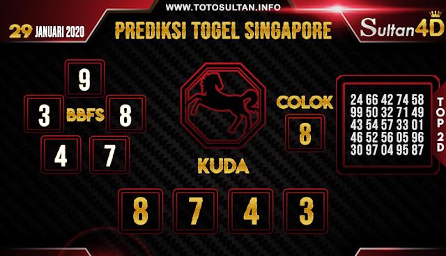 PREDIKSI TOGEL SINGAPORE SULTAN4D 27 JANUARI 2020