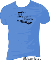Shadow of the Bogeyman Disc Golf Shirt