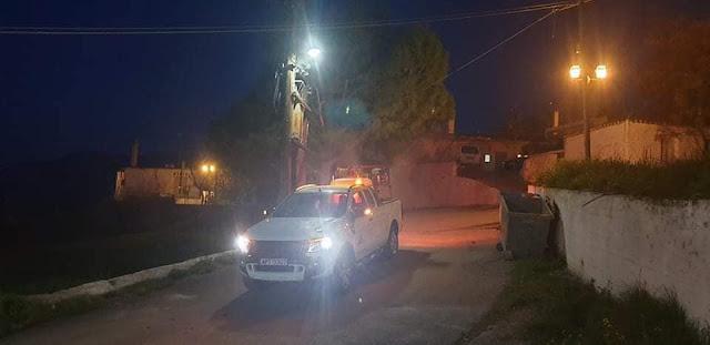 Ολοκληρώθηκαν οι απολυμάνσεις σε δημόσιους κοινόχρηστους χώρους του Δήμου Ερμιονίδας