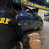 Após fuga na BR-116, PRF apreende crack e cocaína dentro de carro em Conquista