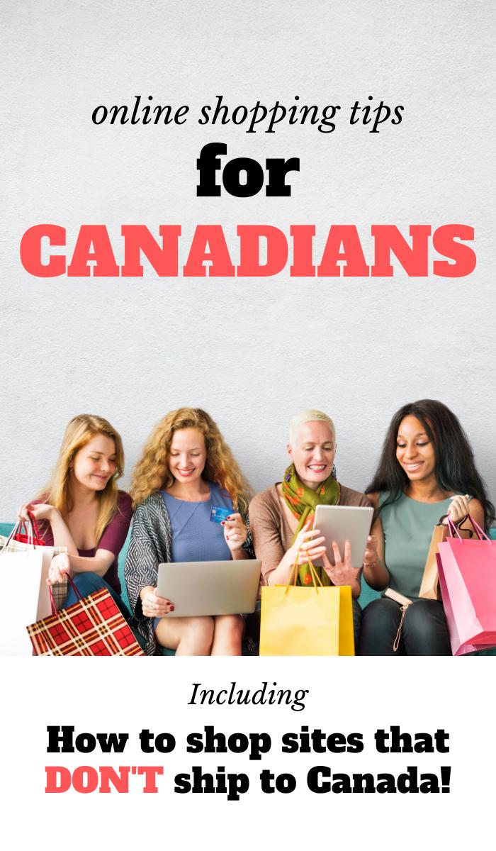 online shopping Canada, cross border shopping online, Canadian shopping online