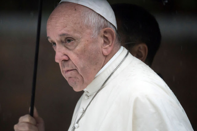 Pope: Confess sins directly to God if no priests available during virus pandemic